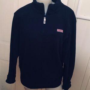 Vineyard Vines Sweatshirt Quarter Zip -S Navy
